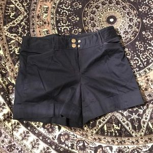 WHBM navy blue shorts